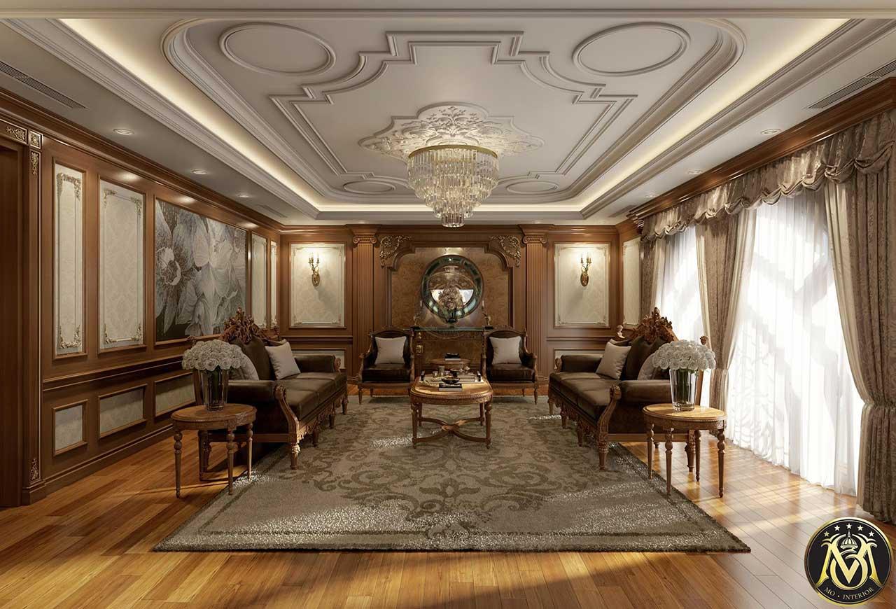 Sofa tân cổ điển bán sẵn
