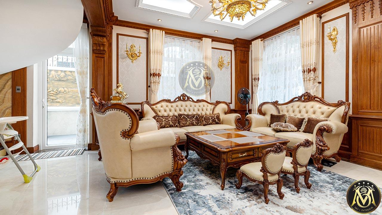 lựa chọn sofa tân cổ điển