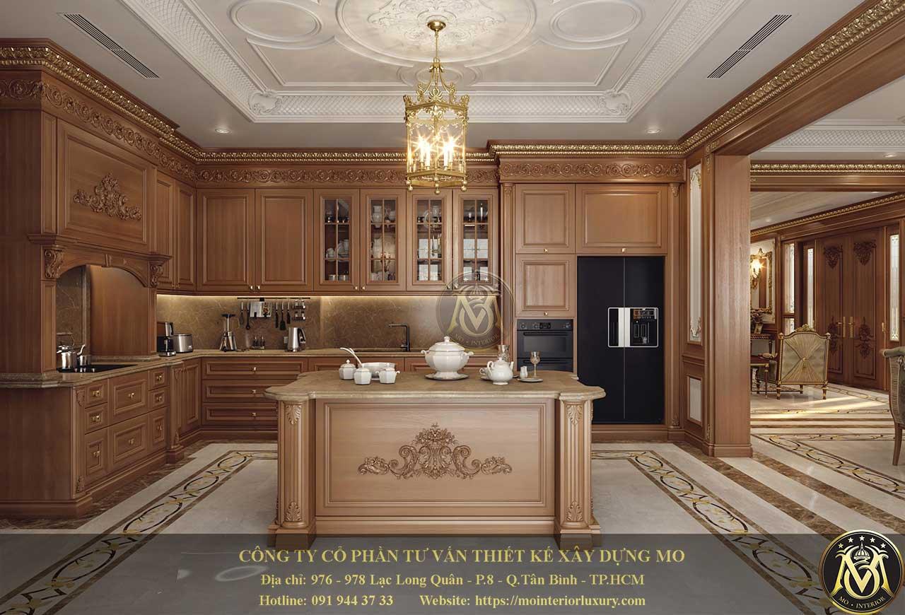 tủ bếp dùng gỗ nào tốt