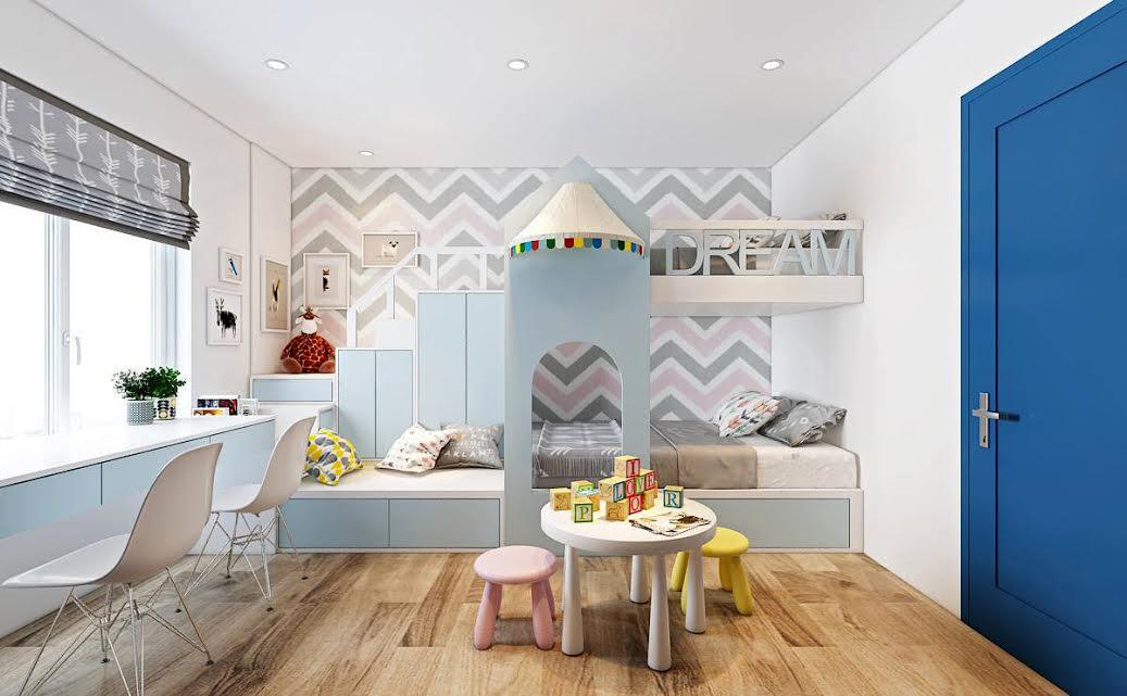 Thiết kế phòng cho trẻ em