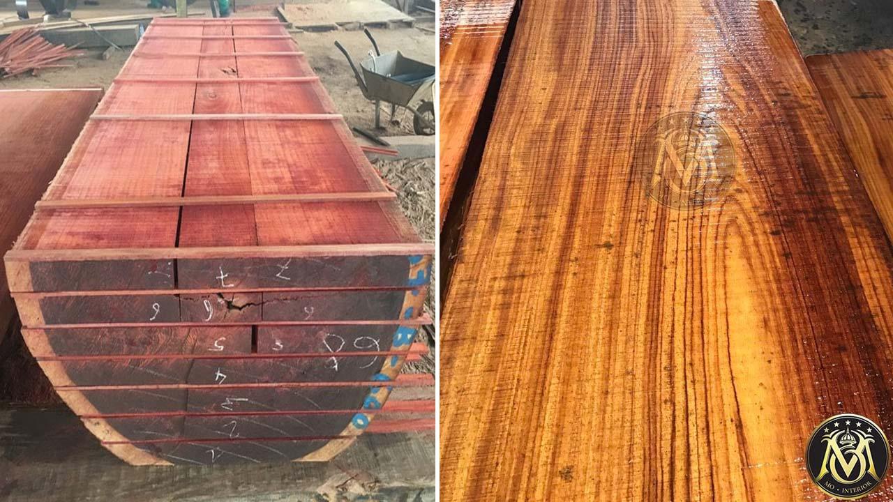 so sánh gỗ Gõ đỏ và gỗ Hương